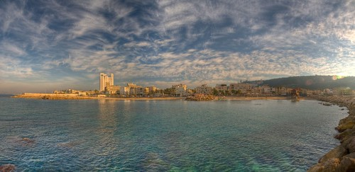 Haifa, Bat Galim, panorama