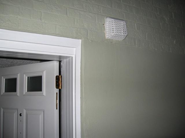 exterior basement door range hood vent flickr photo sharing