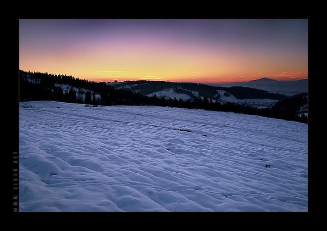 Maciejowa, Gorce Mountains, Poland