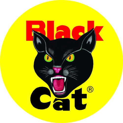 Black Cat Fireworks Round Logo | Explore EpicFireworks ...