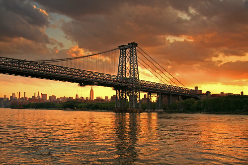 The Williamsburg Bridge, Manhattan, New York
