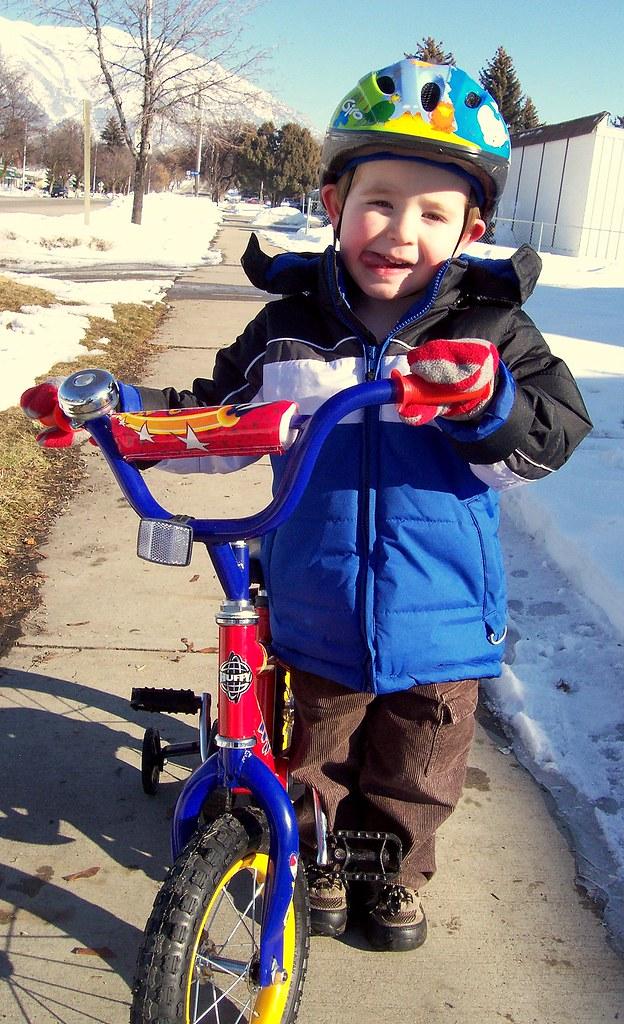 The Kid and His Bike