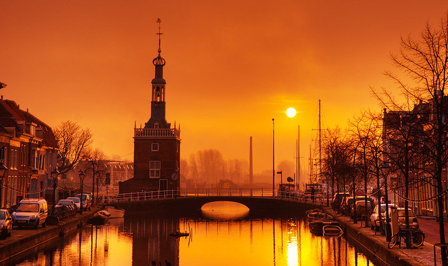 Daybreak in Alkmaar