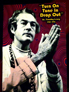 Timothy Leary lives on the Internet