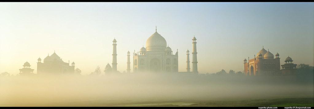 The most beautiful building - Taj Mahal