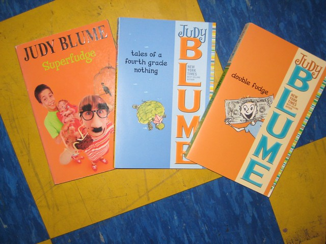 Lot of 5 Judy Blume FUDGE SERIES Complete Matched Set of Books for Ages 7-12
