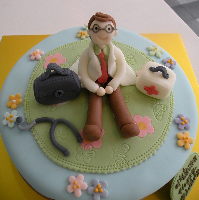 Birthday Cake Images For Doctors : Doctor s Birthday Cake Explore Cake Girl by Hyeyoung Kim ...