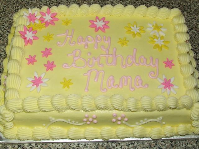 Yellow Birthday Cake | Flickr - Photo Sharing!