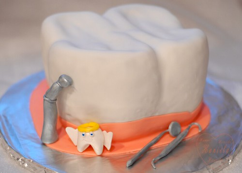 Birthday Cake Design For Dentist : photo