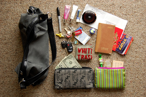 TweakToday: Photograph the contents of your purse/bag