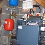 Heat pump wiring and plumbing