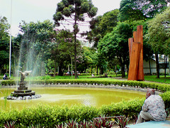 botanical garden, garden, water feature, tree, reflecting pool, fountain, lawn, pond, park,
