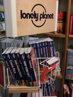 Lonely Planet rack