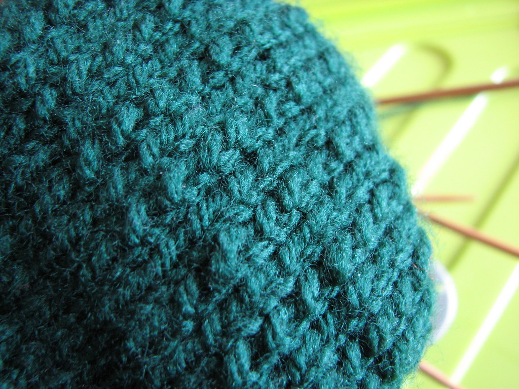 Knitting through the back loop by mollydot, on flickr