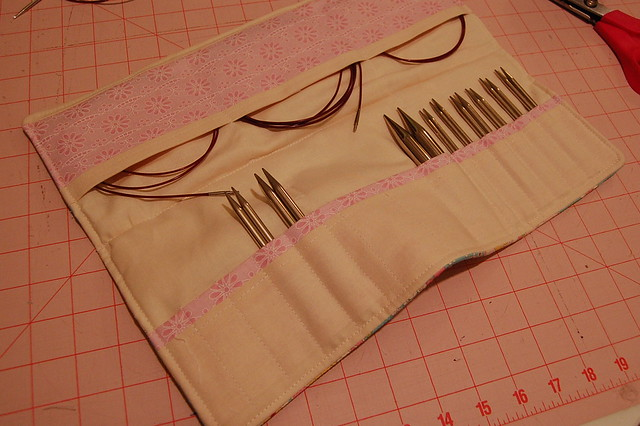 Interchangeable Knitting Needle Case Sewing Pattern : Interchangeable Knitting Needle Case Overall not bad for t? Flickr - Phot...