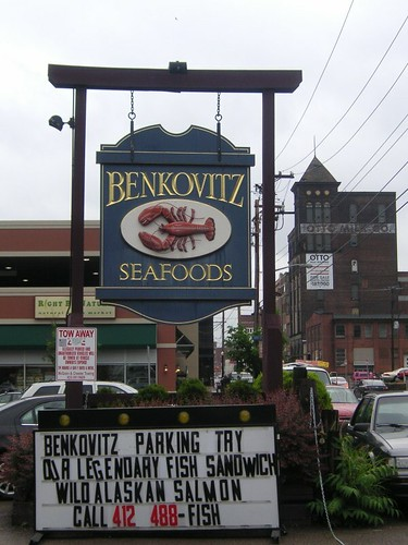 Benkovitz Seafood in the Strip