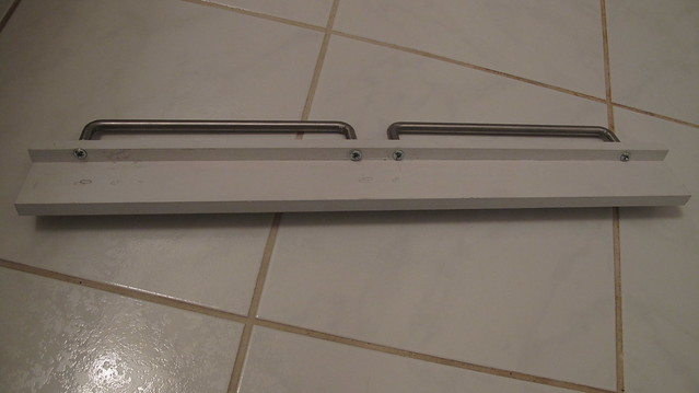 Diy belt and tie rack img 8390 flickr photo sharing for Ikea belt hanger