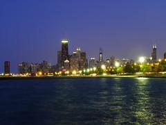 7.19.2009 Chicago (49) John Hancock at night