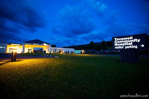 sunset sign hospital evening virginia tazewell canon1740l canoneos5dmarkii tazewellcommunityhospital