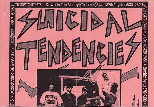 08/08/97 Suicidal Tendencies/Druel/Stray Bullets (Flyer)(Top)