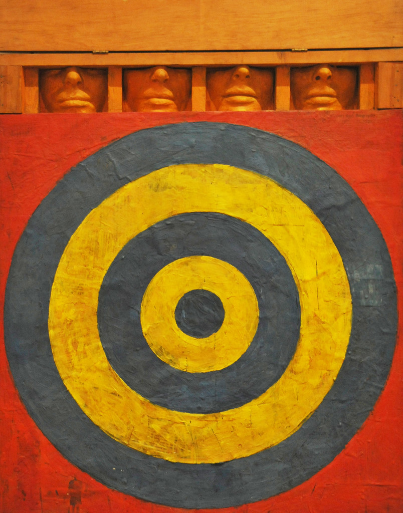 Jasper Johns. Target with Four Faces. 1955. MOMA NY ...