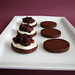 Fig & Goat Cheese Chocolate Sandwich Cookies