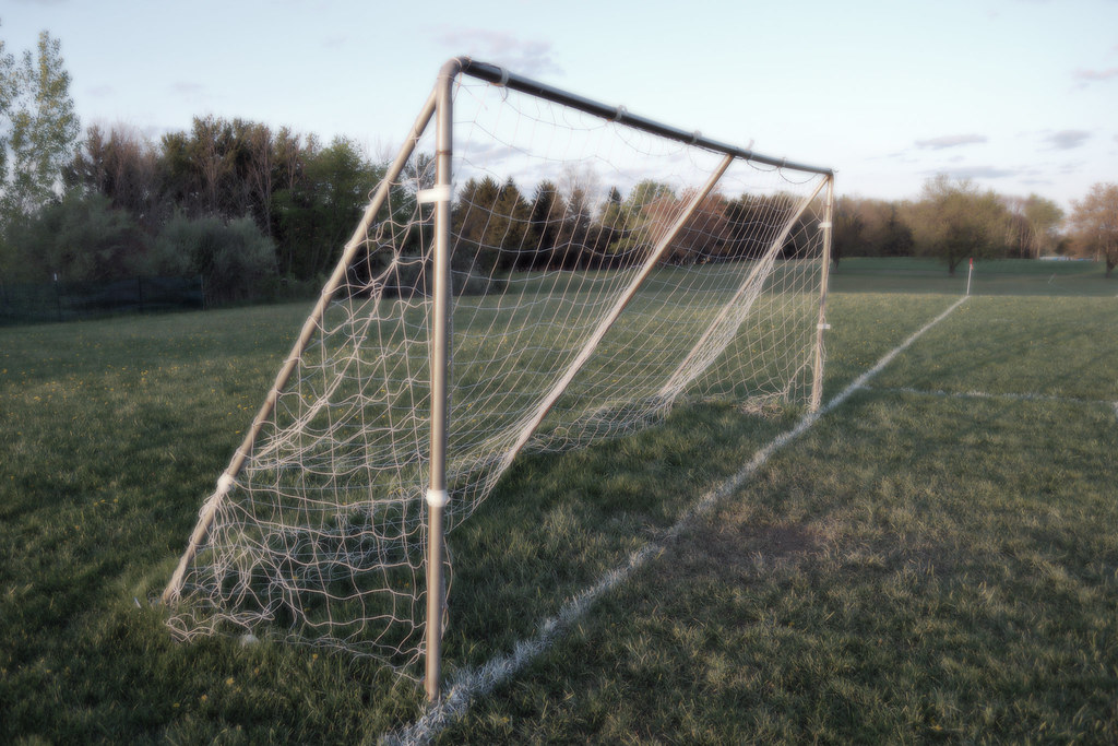 Soccer Goal (Side) by chrismetcalfTV