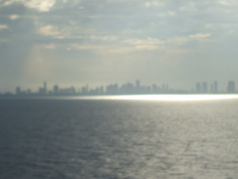 A Hazy Departure from Port Miami