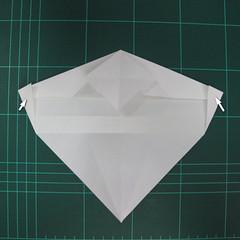 วิธีพับกระดาษเป็นรูปปลาแซลม่อน (Origami Salmon) 018