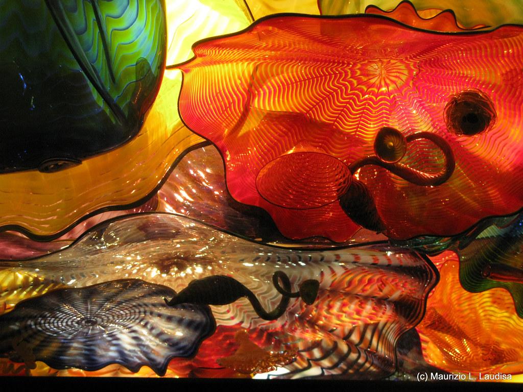 Dale Chihuly exposición en  San Francisco