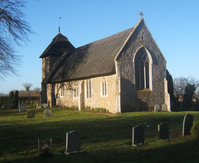 Church of St Mary, Thornham Parva