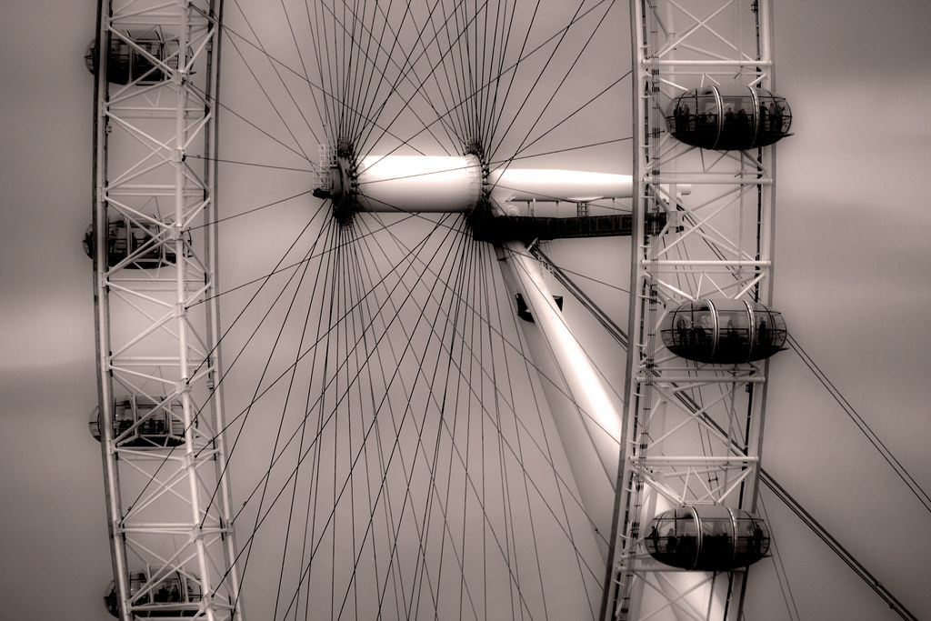 London Eye by David Henderson