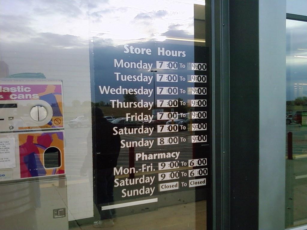 Wal-Mart - Tipton, Iowa - Store Hours