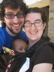 Kevin, Abby & Milo!