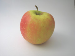 manzana verde, produce, fruit, food, apple,