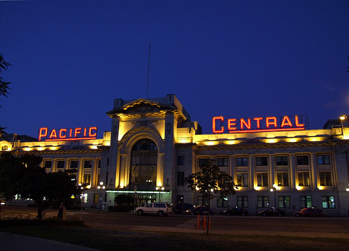 Pacific Central Station, Vancouver