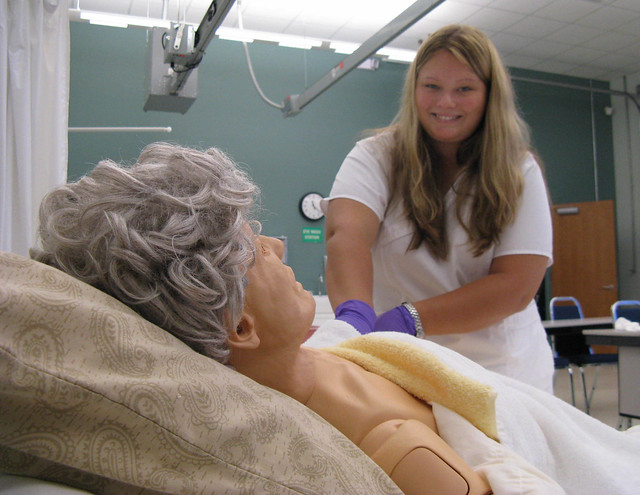 Certified Nursing Assistant (CNA) class at Midlands Technical College, SC