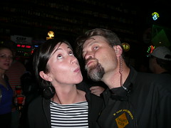Megan Flynn, of Beer NW & Chris Black, Owner of The Falling Rock