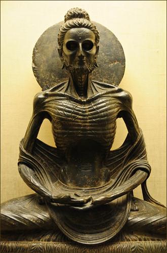 Fasting Siddhartha (Sakyamuni Buddha) - Lahore (Pakistan) by zygmontek
