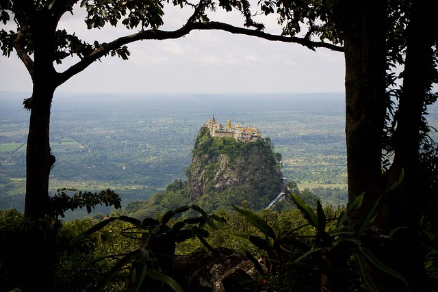 Taung Kalat of Mt.Popa