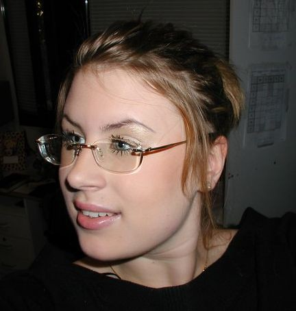 Hot Blonde With Glasses 65