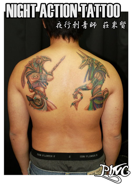 生肖守护神纹身