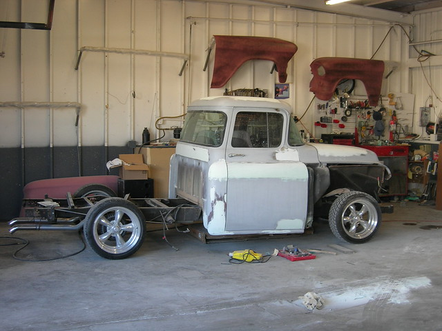 1955 Chevy Truck Rat Rod http://www.flickr.com/photos/33677378@N06/3205016468/