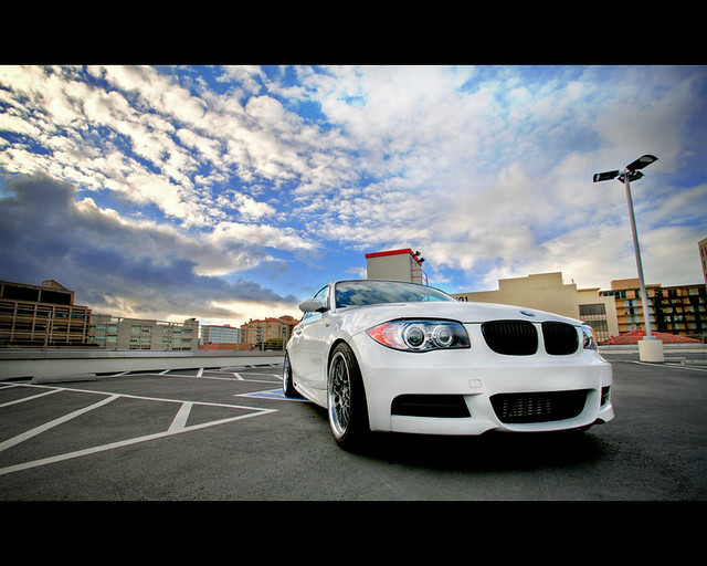Car & Clouds (HDR)