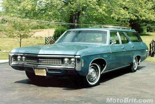 1969 Chevrolet Kingswood Estate Wagon http://www.flickr.com/photos/27040562@N04/3259247622/