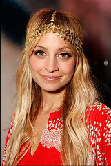 Nicole Richie at Salon Party Close Up