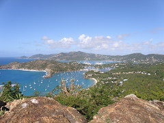 Nelson's Dockyard in English Harbour, Antigua