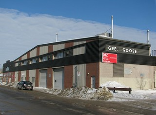 Fmr Grey Goose Bus Garage