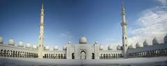 La Grande Mosqué d'Abu Dhabi