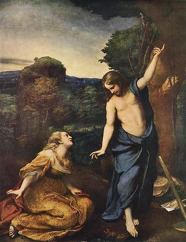 """Noli me Tangere"" (Corregio -- 1518)"